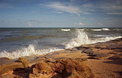 Photograph - The Rocks X. Flagler County. by Chris  Kusik
