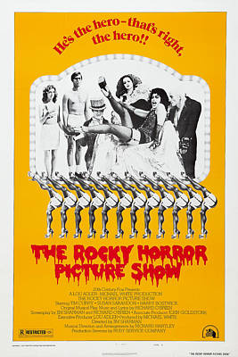 The Rocky Horror Picture Show Art Print by MMG Archives