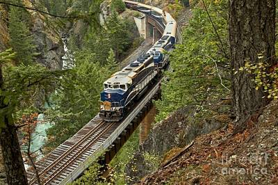 Photograph - The Rocky Mountaineer by Adam Jewell