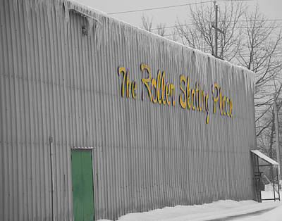 Oda Photograph - The Roller Skating Place by Elaine Mikkelstrup