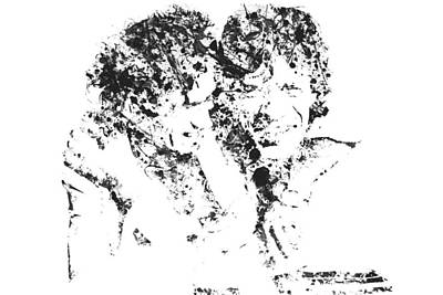 Mick Jagger And Keith Richards Digital Art - The Rolling Stones 3b by Brian Reaves