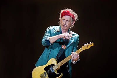 England Photograph - The Rolling Stones Perform At The 02 by Neil Lupin