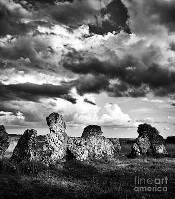 Photograph - The Rollright Stones by Tim Gainey