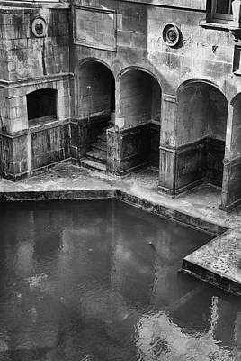 Photograph - The Roman Baths by Michael Hope