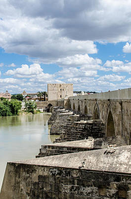 Photograph - The Roman Bridge Of Cordoba  by Andrea Mazzocchetti