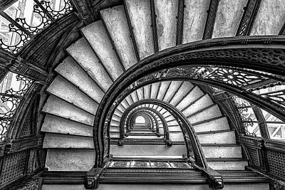 Spiral Wall Art - Photograph - The Rookery by Yimei Sun