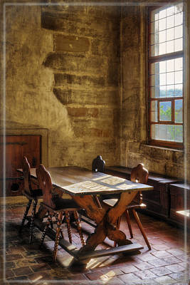 The Room On The Side Art Print by Joan Carroll