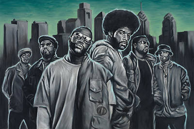 Phillies Art Painting - The Roots by Travis Knight