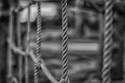 Photograph - The Ropes by Nicholas Evans