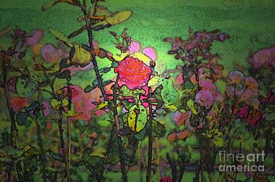 Digital Art - The Rose Garden by Tikvah's Hope