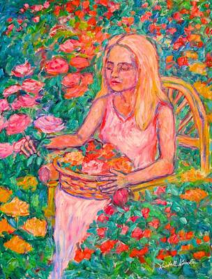 Painting - The Rose by Kendall Kessler