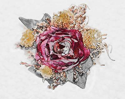 The Rose Art Print by Susan Leggett