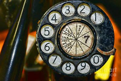 The Rotary Dial Art Print
