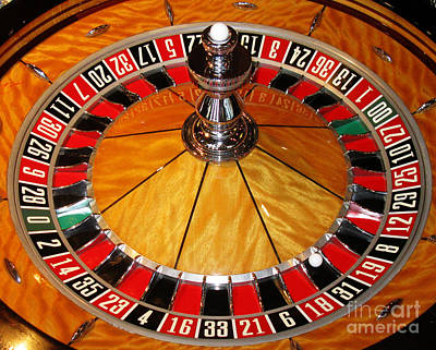 The Roulette Wheel Art Print by Tom Conway
