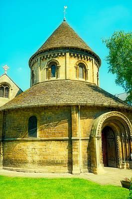 Cambridge Photograph - The Round Church by Nicolae Gherasim