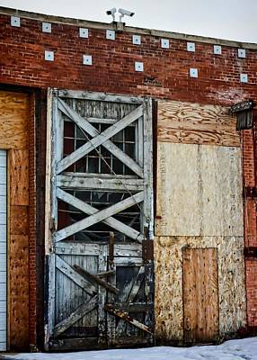 Photograph - The Roundhouse Evanston Wyoming - 2 by Ely Arsha