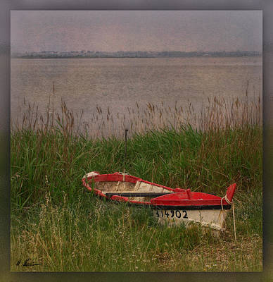 Photograph - The Rowboat by Hanny Heim