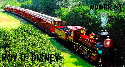 The Roy O. Disney Print by David Lee Thompson