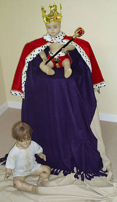 The Royal Baby Original by Robin Beuscher