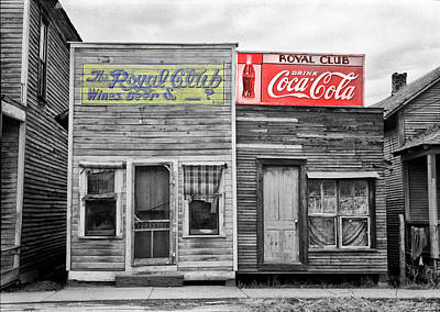 Coke Photograph - The Royal Club by Bill Cannon