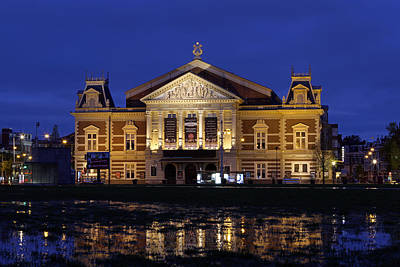 Photograph - The Royal Concertgebouw In Amsterdam by Juergen Roth