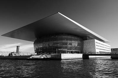 Photograph - The Royal Danish Opera House by Ross G Strachan