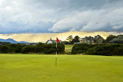 Photograph - The Royal Dornoch Scotland by Sally Ross