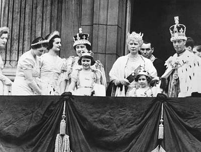 Photograph - The Royal Family by Underwood Archives