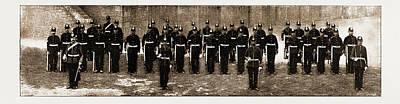 The Royal Guernsey Militia The Detachment In London Art Print