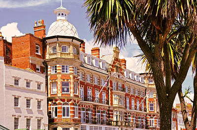 Photograph - The Royal Hotel Weymouth by Nop Briex