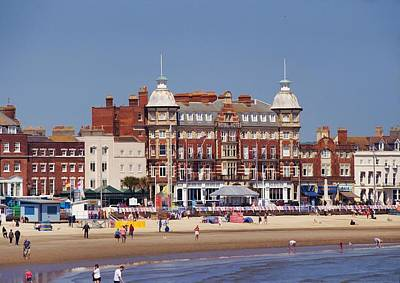 Photograph - The Royal Hotel - Weymouth by Paul Gulliver