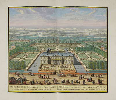The Royal Palace At Honselaarsdijk Art Print by British Library