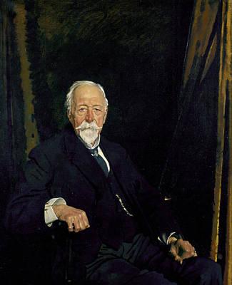 The Rt Hon. Sir Clifford Allbutt Art Print by Sir William Orpen