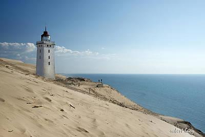 The Rubjerg Lighthouse Art Print