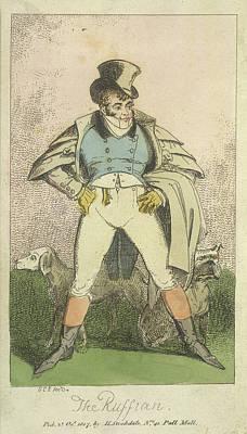 Cruikshank Photograph - The Ruffian by British Library