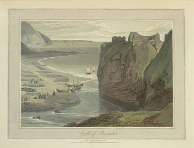 The Ruined Castle Of Berrydale Art Print by British Library