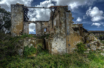 Photograph - The Ruins by Marco Oliveira