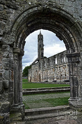 Photograph - The Ruins Of St Andrews Cathedral by RicardMN Photography