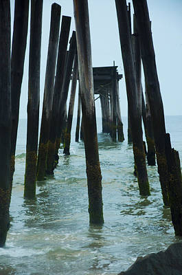 The Ruins Of The 59th Street Pier  Art Print