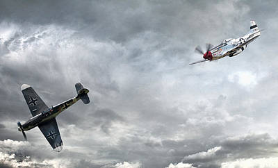 Dramatic Digital Art - The Rush by Peter Chilelli