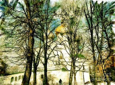 Moscow Mixed Media - The Russian Church by Yury Bashkin