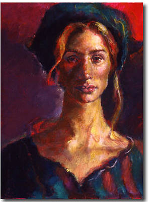 Painting - The Russian Woman by Ellen Dreibelbis