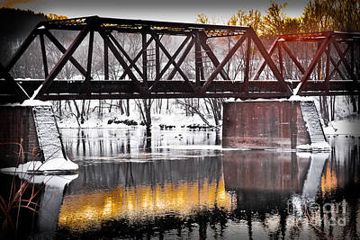 Unicorn Dust - The Rusty Bridge by Gary Keesler