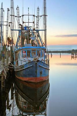 The Rusty Shrimper Print by JC Findley
