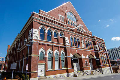 Photograph - The Ryman Auditorium by Robert Hebert