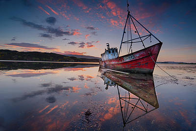 Shipwreck Wall Art - Photograph - The Sabrina by Trevor Cole