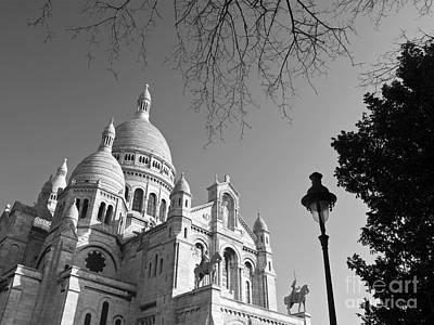 Sacre Coeur Photograph - The Sacre Coeur by Alex Cassels