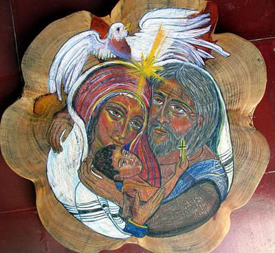 The Sacred Family Art Print