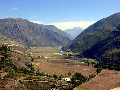 South America Photograph - The Sacred Valley by Roger Burkart