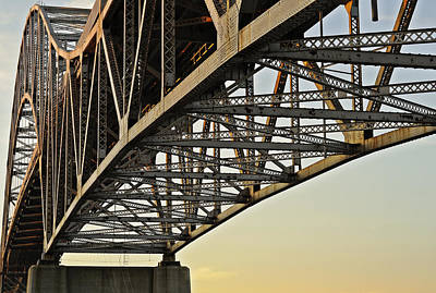 Photograph - The Sagamore Bridge by Luke Moore